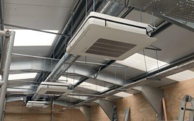 Gym Air Conditioning Installation BlackHeath, London